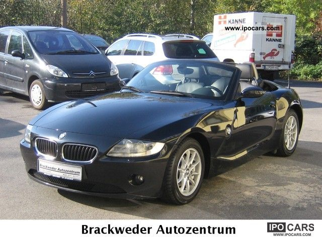 2005 Bmw Z4 Roadster 2 5i Full Service History 1 Hand