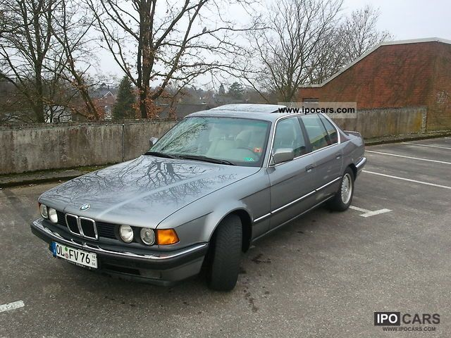 1991 BMW  730i (former BMW factory car - rare features) Limousine Used vehicle photo