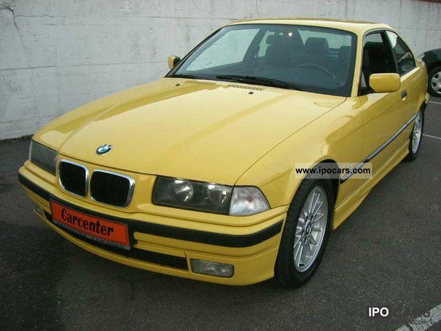 1998 BMW  320i E36 Coupe / Sondermod. / Leather / Air Sports car/Coupe Used vehicle photo