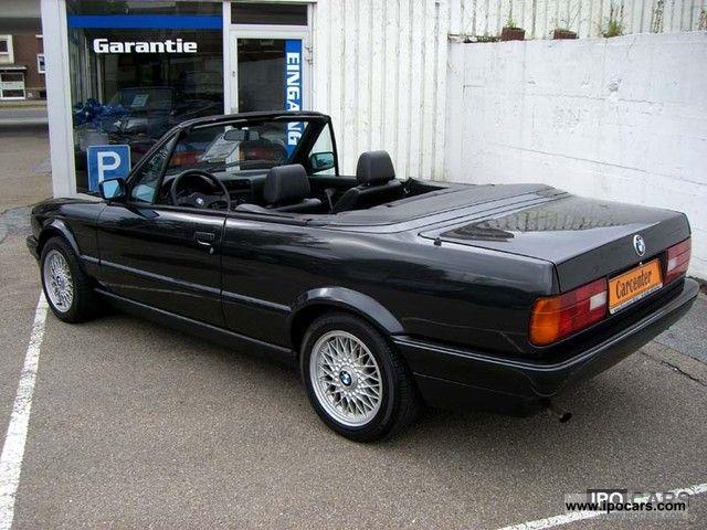 1991 bmw e30 318i convertible leather euro ii car. Black Bedroom Furniture Sets. Home Design Ideas