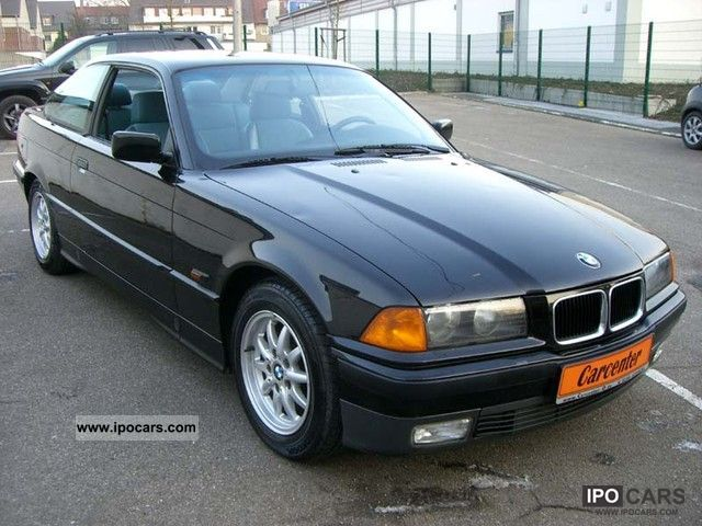 1996 bmw 316i e36 coupe air part leather car photo and specs. Black Bedroom Furniture Sets. Home Design Ideas