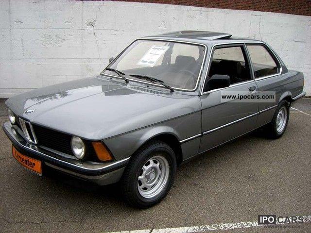 1981 BMW  315 E21 from 1.Besitz / H license plates Limousine Classic Vehicle photo