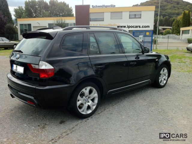 2007 bmw x3 aut m paket panoramadach car photo and specs. Black Bedroom Furniture Sets. Home Design Ideas