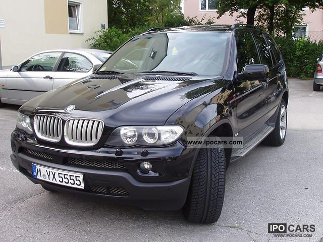 2004 bmw x5 3 0 d car photo and specs. Black Bedroom Furniture Sets. Home Design Ideas
