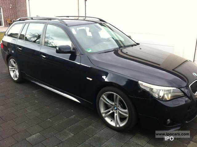 2006 bmw touring 535d m sport package navigation xenon distronic car photo and specs. Black Bedroom Furniture Sets. Home Design Ideas