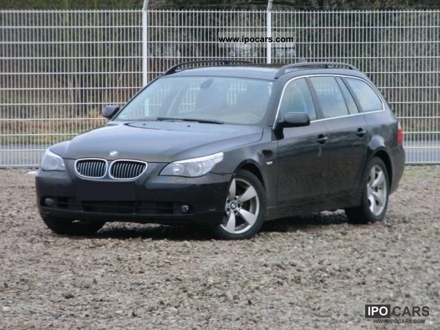 2006 BMW  525d Touring Aut., Navi.Prof., Bluetooth, TV, leather Estate Car Used vehicle photo