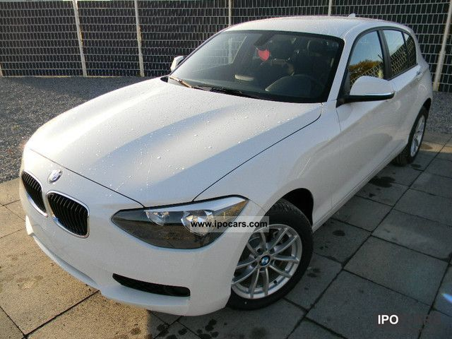 2012 BMW  116d NEW MODEL, L-rate 149 €, 10,000 km per annum, 36 m Limousine Demonstration Vehicle photo