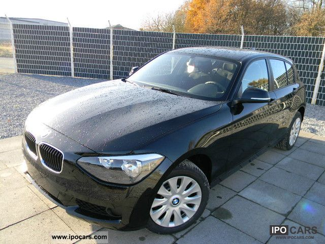 2012 BMW  116d, leasing rate € 222, 10,000 km per year, 36 months Limousine Used vehicle photo