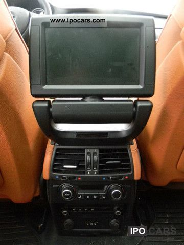 2009 Bmw X5 M At The Rear Dvd Tv Top View Head Up Full