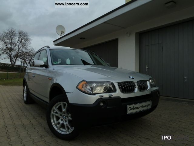 2005 BMW  X3 2.5i + AIR + ALU + APC XENON 6th gear +2. Hd + EURO-4 Limousine Used vehicle photo