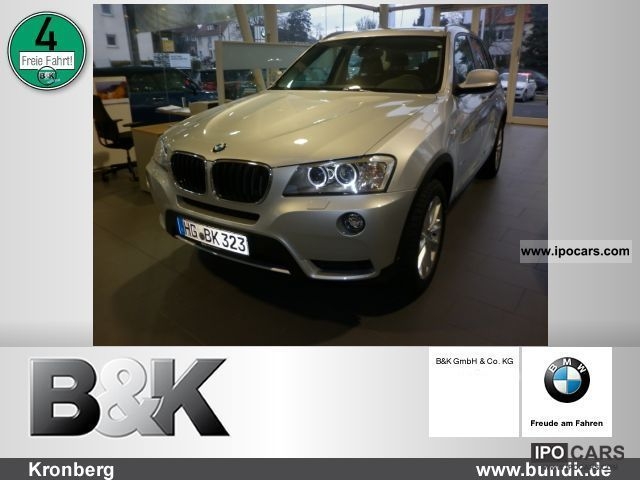 2012 BMW  X3 xDrive 20d (Navi Xenon PDC air) Off-road Vehicle/Pickup Truck Demonstration Vehicle photo