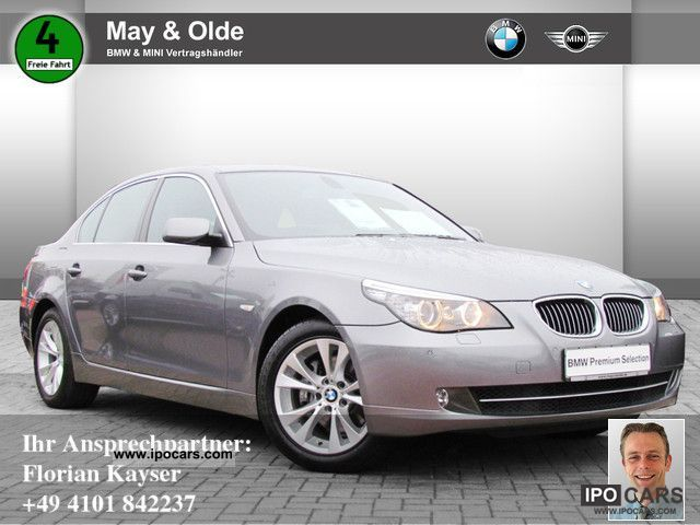 2008 BMW  525dA Lifestyle Edition HUD, SCA, Comfort access Limousine Used vehicle photo