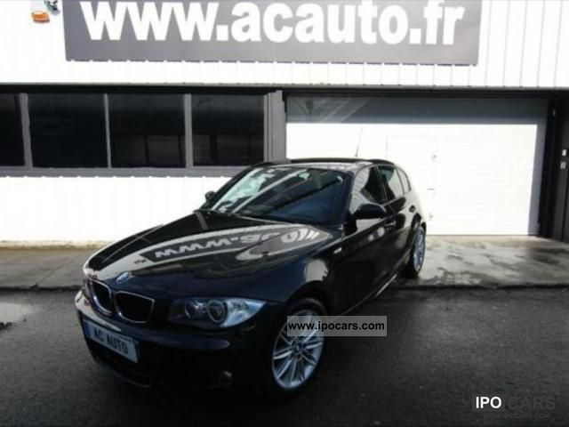 2008 BMW  118 143 CH SPORTS DESIGN Limousine Used vehicle photo