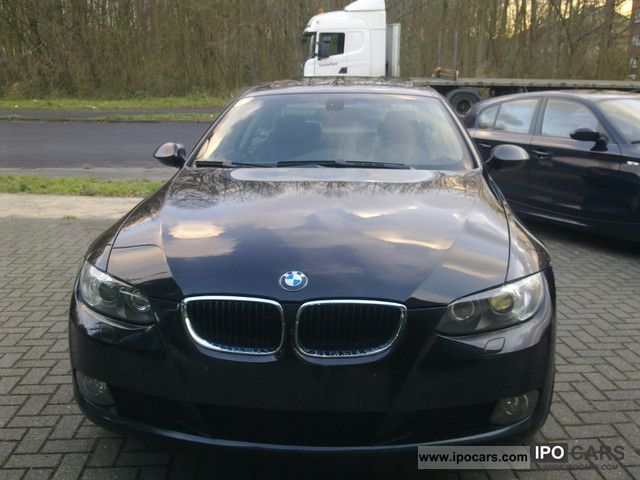 2008 bmw 320d coupe aut vollausstattung car photo and specs. Black Bedroom Furniture Sets. Home Design Ideas