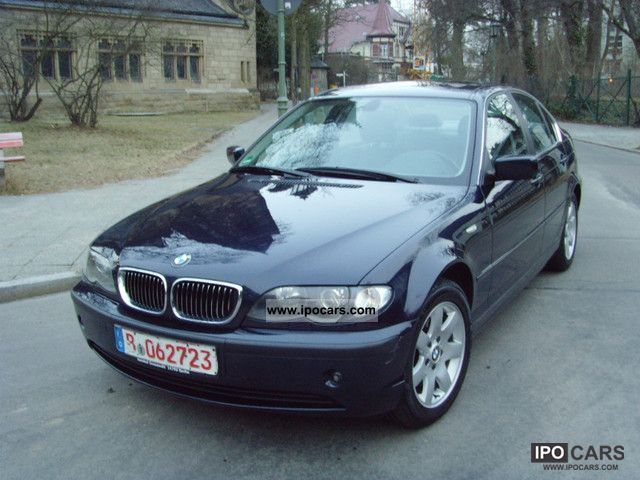 2003 BMW  1.Hand 325i / full equipment Limousine Used vehicle photo