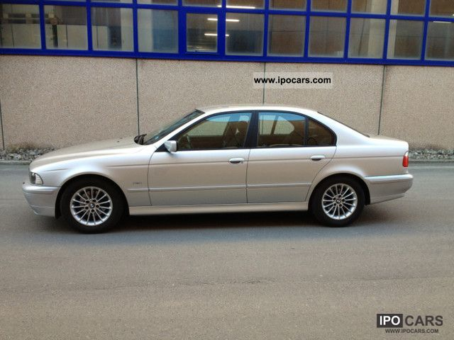 2001 bmw 520i car photo and specs. Black Bedroom Furniture Sets. Home Design Ideas