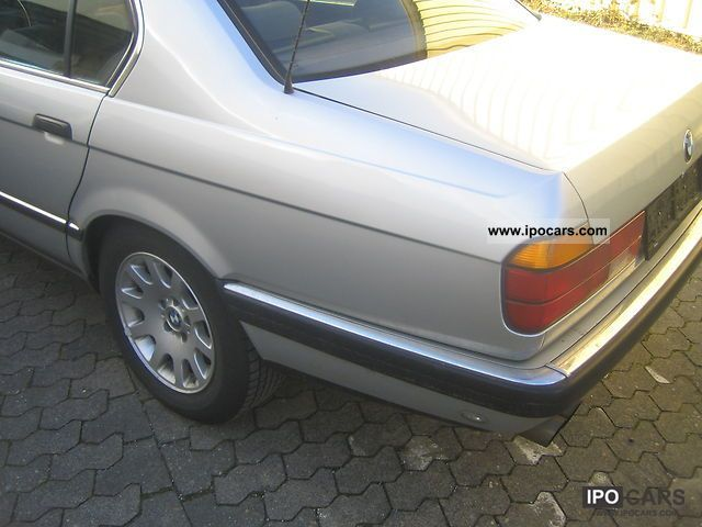Worksheet. 1990 BMW 730i Aut classic cars climate  Car Photo and Specs