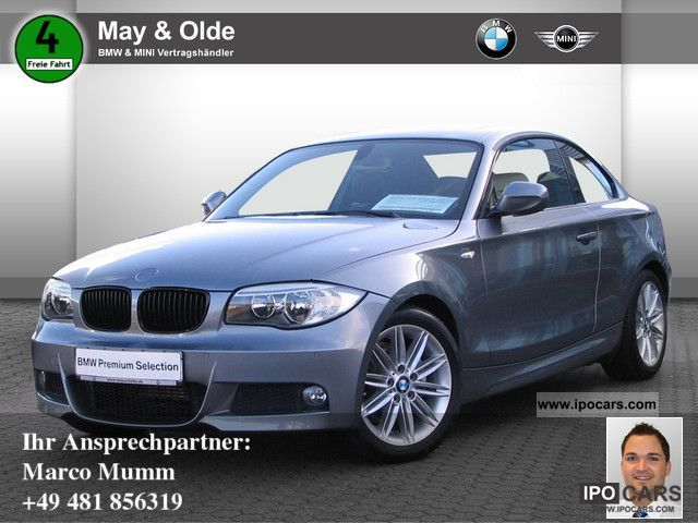 2011 BMW  120d Coupe M Sport Package DPF SSD SHZ PDC AIR Sports car/Coupe Used vehicle photo