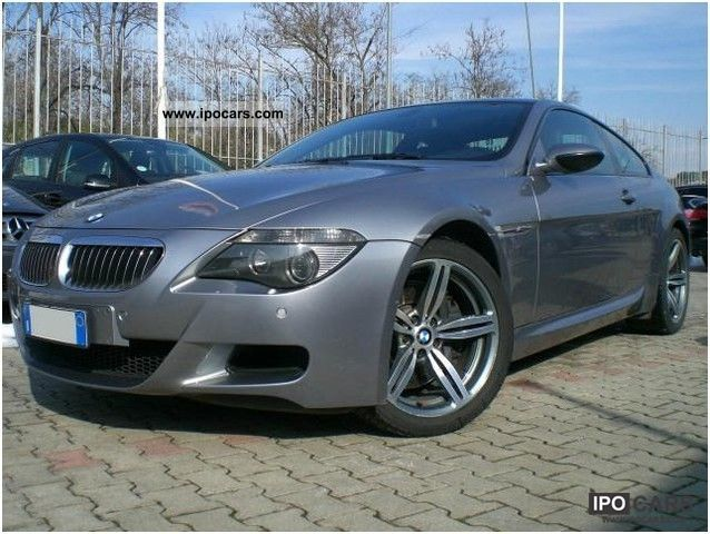 2006 bmw m6 coup car photo and specs. Black Bedroom Furniture Sets. Home Design Ideas