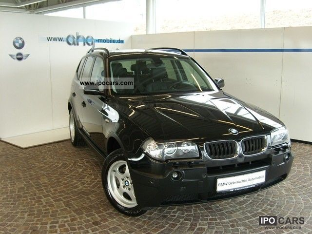 2006 BMW  X3 2.0d Navi PDC Sitzh. Xenon panoramic glass roof Off-road Vehicle/Pickup Truck Used vehicle photo