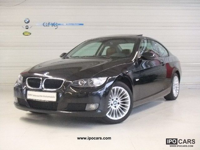 2008 bmw 320d coupe glass roof electrically comfortpaket pdc car photo and specs. Black Bedroom Furniture Sets. Home Design Ideas