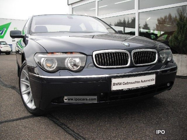 2004 BMW  760i Xenon PDC phone SD glass electric comfort seats Limousine Used vehicle photo