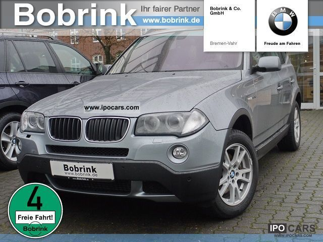 2008 BMW  X3 xDrive20d (Air Navi Prof leather DPF) Off-road Vehicle/Pickup Truck Used vehicle photo