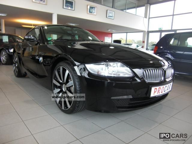 2007 BMW  Z4 Coupe 3.0si * leather * NaviProf * Climate * PDC Sports car/Coupe Used vehicle photo