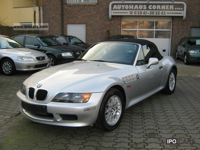 2000 BMW  1.8 Z3 roadster leather, climate, only 69000 km Cabrio / roadster Used vehicle photo