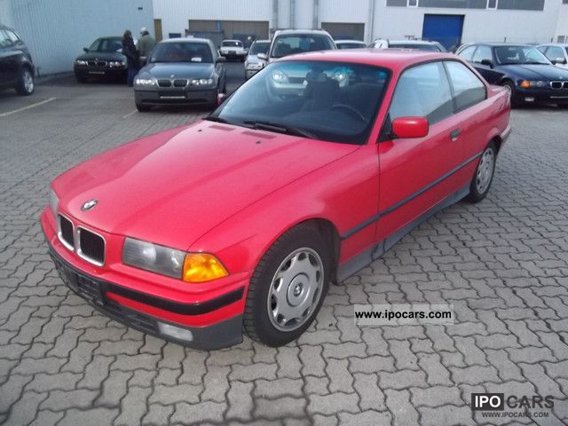 1992 BMW  320i-1 HAND AIR CONDITIONING Sports car/Coupe Used vehicle photo