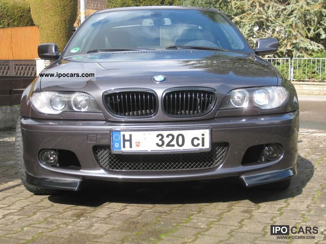 2004 bmw 320 ci sport edition car photo and specs. Black Bedroom Furniture Sets. Home Design Ideas
