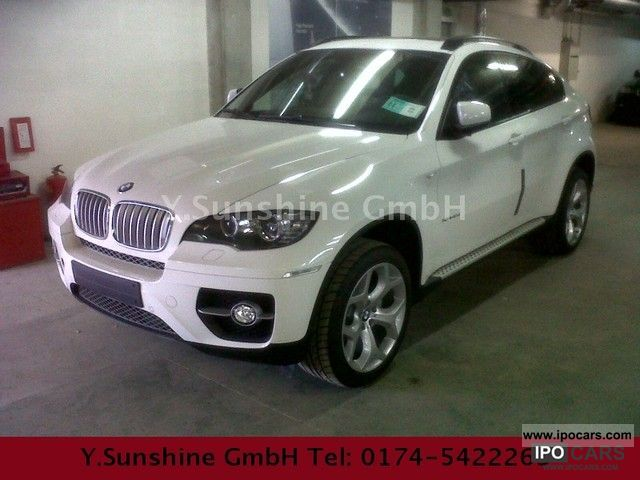 2012 Bmw X6 Xdrive40d White Black Sportp 5 Seater Car Photo And Specs