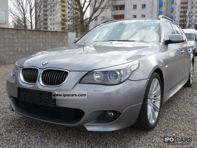 2007 bmw 525d touring aut m sport package car photo and specs. Black Bedroom Furniture Sets. Home Design Ideas