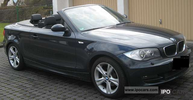 2008 bmw 118i convertible car photo and specs. Black Bedroom Furniture Sets. Home Design Ideas