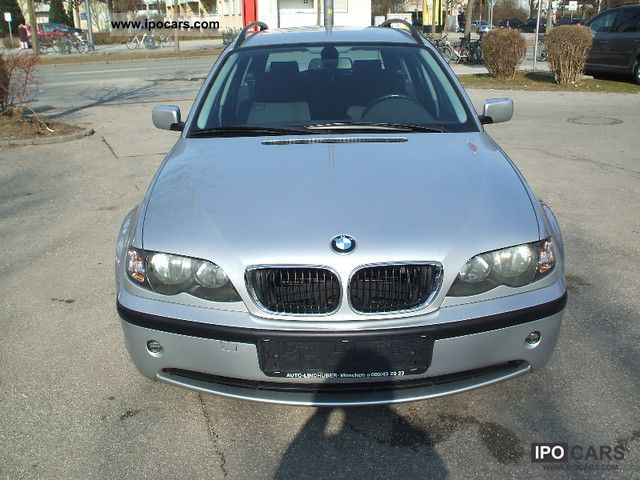 2002 Bmw 318d Touring Car Photo And Specs