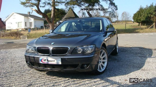 2007 bmw 730d business navigation steptronic car photo and specs. Black Bedroom Furniture Sets. Home Design Ideas