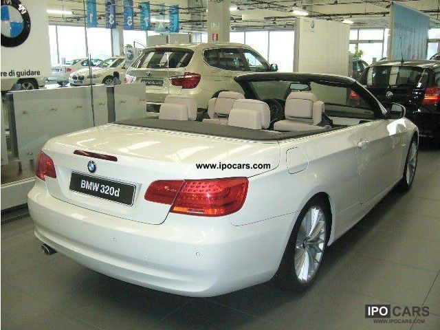 2011 bmw cat 320d convertible attiva 2010 03u003e car photo and specs. Black Bedroom Furniture Sets. Home Design Ideas