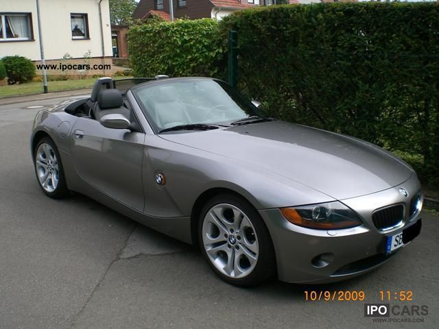 2003 Bmw Z4 2 5i Roadster Car Photo And Specs