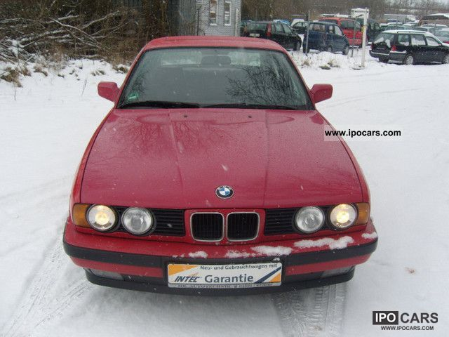 1989 Bmw Emissions Standard 525i D3 Kat Car Photo And Specs