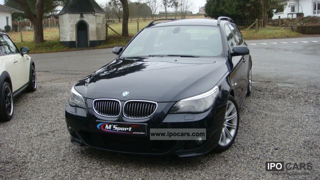 2007 BMW  525d Touring Pack M Business Line Estate Car Used vehicle photo