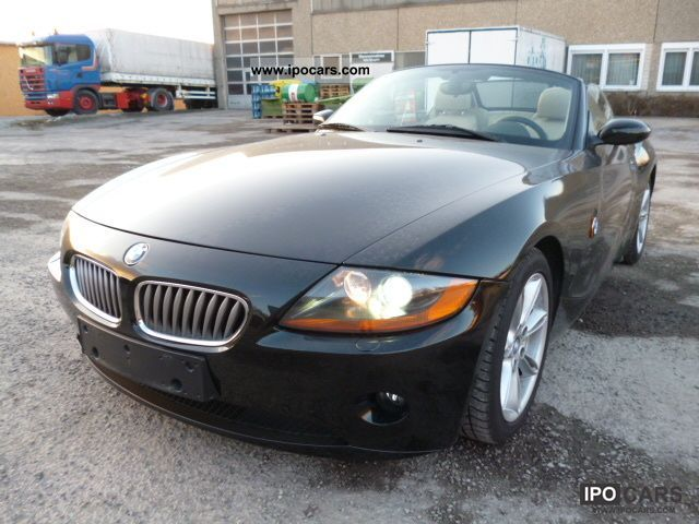 2004 BMW  Z4 roadster 2.2i ~ ~ ~ Top 85 TKM Xenon ~ ~ Tüv new Cabrio / roadster Used vehicle photo