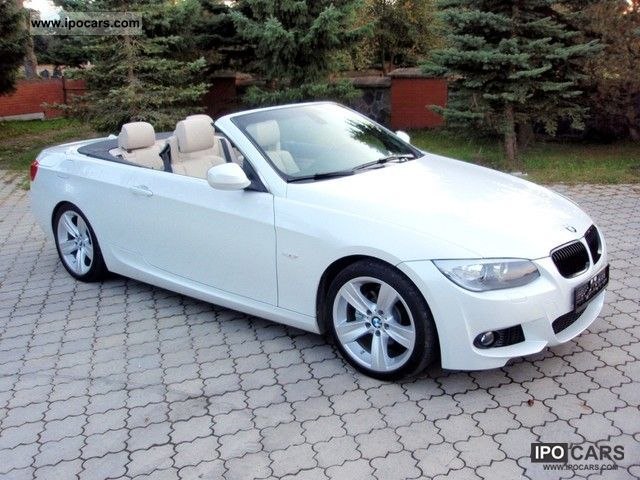 2011 bmw 330i convertible aut m package 6500km car photo and specs. Black Bedroom Furniture Sets. Home Design Ideas