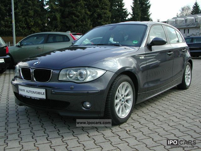 2005 BMW  118i Aut. Limousine Used vehicle photo