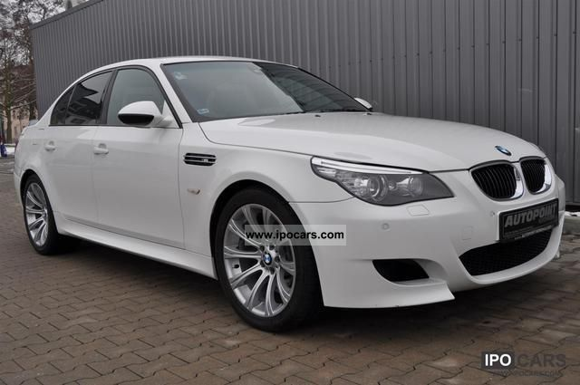 2009 bmw m5 smg xenon white leather car photo and specs. Black Bedroom Furniture Sets. Home Design Ideas