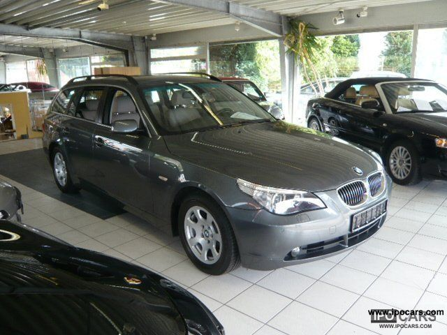 2006 BMW  525d Touring DPF / navi / leather / Xenon / Pdc Estate Car Used vehicle photo
