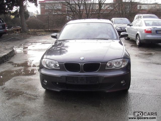 2006 bmw 120i aut car photo and specs. Black Bedroom Furniture Sets. Home Design Ideas
