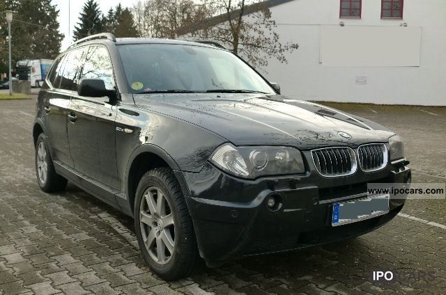 2005 bmw x3 leather navigation xenon vollausstattung. Black Bedroom Furniture Sets. Home Design Ideas