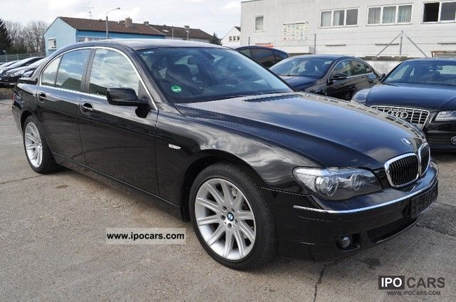 2006 BMW  730d Voll/Leder/Xenon/Navi/Scheckheft/19Zoll Limousine Used vehicle photo