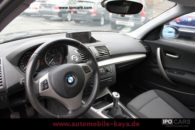 2006 BMW  118d Navi Plus PDC aluminum MFL mod.2007-98Tkm Limousine Used vehicle photo