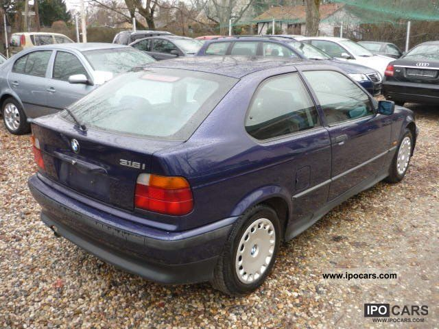 1998 bmw 316i compact air car photo and specs. Black Bedroom Furniture Sets. Home Design Ideas